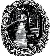 Bookplate of Elisabeth Raverat (giclée only)